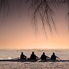 Morning Rowers. by DaveBassett