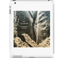 Orchid Men Detail iPad Case/Skin