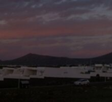 Puerto Del Carmen, Lanzarote Sunrise Panoramic by Allen Lucas