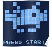 Space Invaders - Arcade Game | Press Start Poster