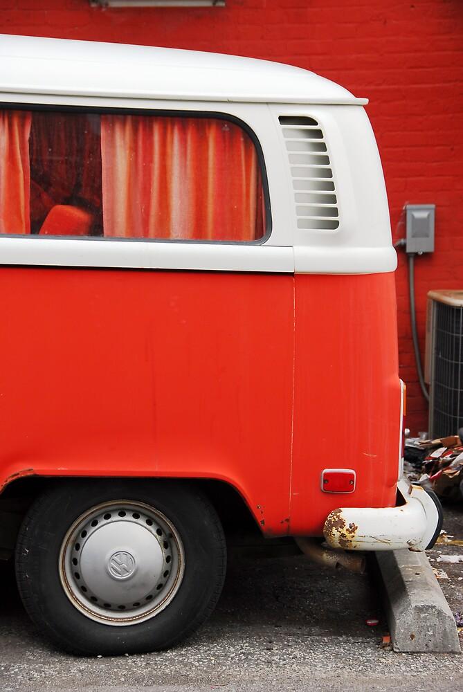 The Orange Van by Justin  Robertson