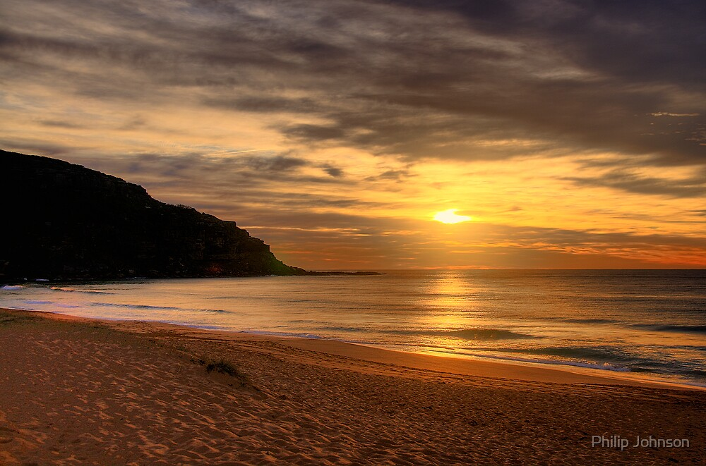 Sands Of Time - Palm Beach - Sydney Beaches - The HDR Series by Philip Johnson