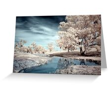 Dam Reflections Greeting Card