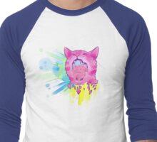 Explosive Cat Men's Baseball ¾ T-Shirt