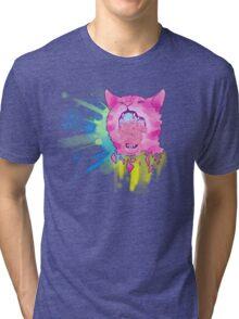 Explosive Cat Tri-blend T-Shirt
