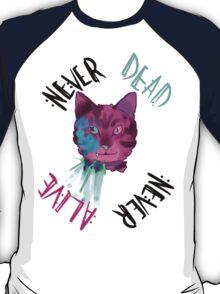 Never Dead/Alive Schrödinger's Cat T-Shirt