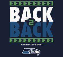 Seattle Seahawks BACK 2 BACK Super Bowls by Quik86