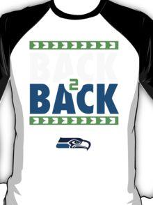 Seattle Seahawks BACK 2 BACK Super Bowls T-Shirt