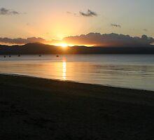 Sunset over Dunk Island  by kxrya1