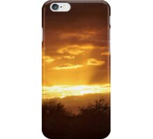 Dramatic Skies at Dusk Over South London, England iPhone Case/Skin