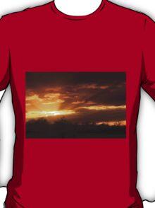 Dramatic Skies at Dusk Over South London, England T-Shirt