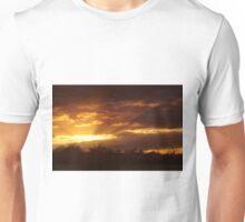Dramatic Skies at Dusk Over South London, England Unisex T-Shirt
