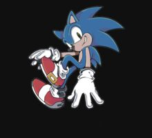 Sonic Sitting Baby Tee