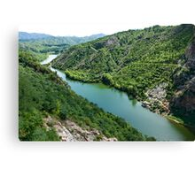 Simatai river Canvas Print