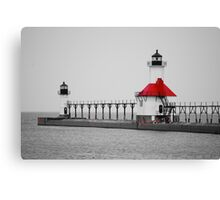 Lake View  Lake Michigan Canvas Print