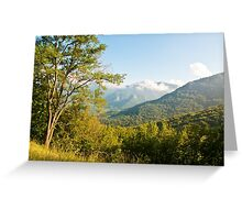 After the Rain is Gone Greeting Card