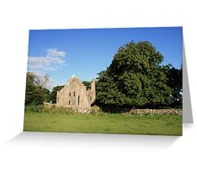 Dysert ruins Greeting Card