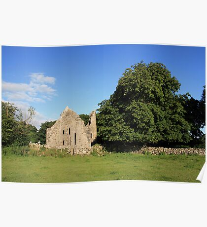 Dysert ruins Poster