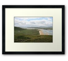 Donegal view Framed Print