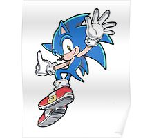 Sonic Jumping Poster