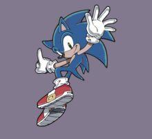 Sonic Jumping Kids Tee