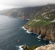 Donegal Cliffs by John Quinn