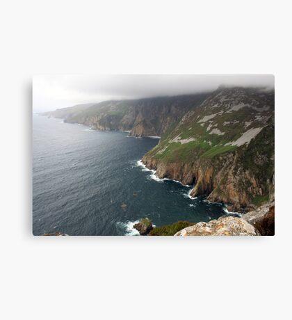Donegal Cliffs Canvas Print