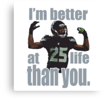 Sherman Better Canvas Print