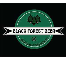 Black Forest Beer logo Photographic Print