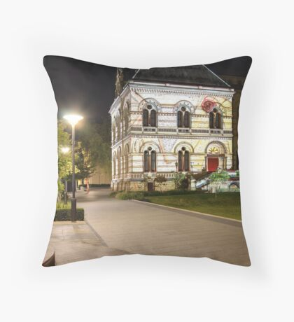 Northern Lights - State Library Part II Throw Pillow