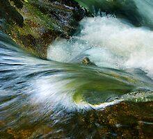 Fowey cascade by M G  Pettett