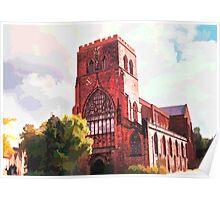 Shrewsbury Abbey Poster