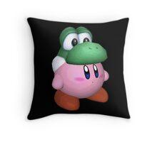 eggzalent kirby dezign :] Throw Pillow