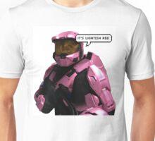 it's lightish red Unisex T-Shirt