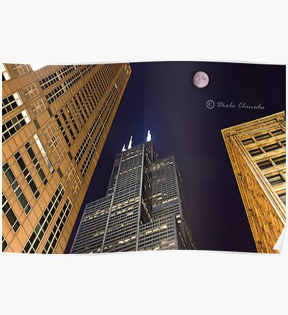 Sears Tower Chicago Poster
