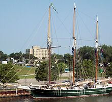 S/V Denis Sullivan - Bay City - 2010 by Francis LaLonde