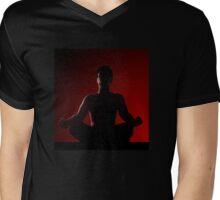 Power of meditiation... Mens V-Neck T-Shirt