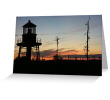 Cory's Lighthouse 2 Greeting Card