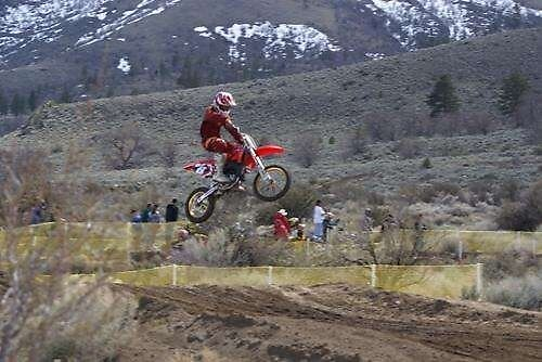 Honeylake MX - Milford Creek, CA; Nce Air shot!  Celebrating Loretta Lynns' Motocross Qualifier by leih2008