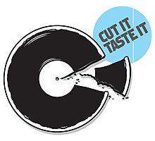 Cut it / Taste it Photographic Print