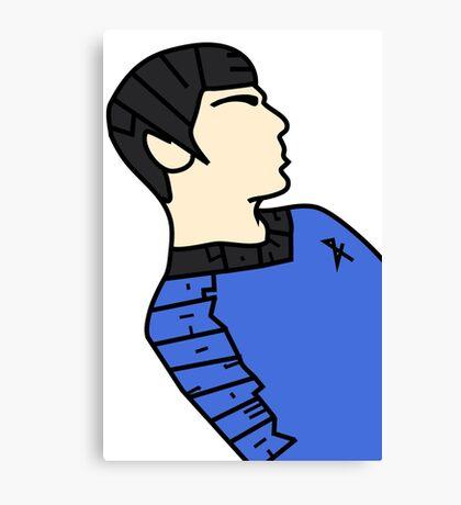 LLaP Spock Canvas Print