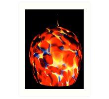 Fractal Glass Art Print