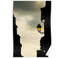 Fourgeres Lamplight Poster