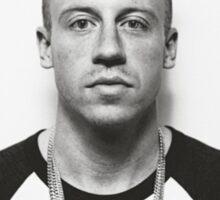 Blue-Eyes White Rapper Sticker