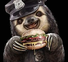 BURGER COP by MEDIACORPSE