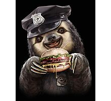 BURGER COP Photographic Print