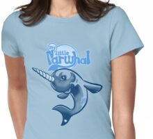 My Little Narwhal Womens Fitted T-Shirt