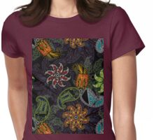 brooklyn paisley Womens Fitted T-Shirt