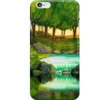 FOREST POOL iPhone Case/Skin