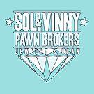 Sol & Vinny Pawn Brokers by MomfiaTees